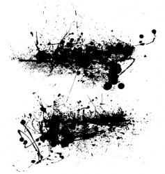 scraggy grunge vector image vector image