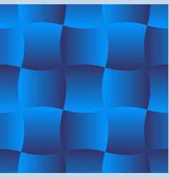 3d curve tile seamless pattern blue 001 vector image