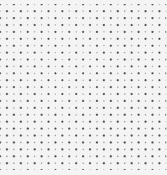 abstract seamless pattern with dots and plus signs vector image