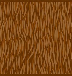 fell seamless pattern animal hair ornament fur vector image