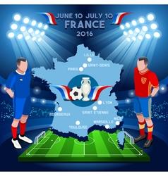 France 2016 Euro Championship vector