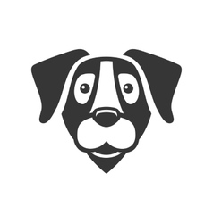 Labrador Retriever Dog Head Icon Logo vector