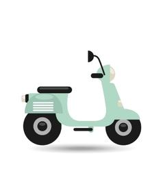 motorcycle icon design vector image