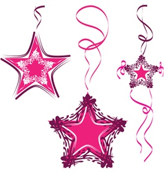 star decoration abstract star vector image