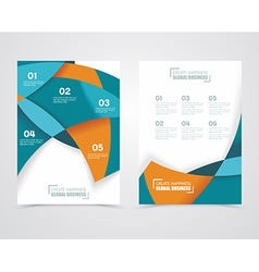 Geometric design business banners vector