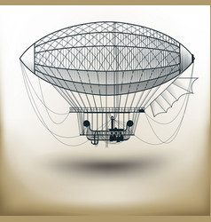 air ballon vector image vector image