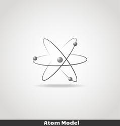 Simple atom icon copy vector image