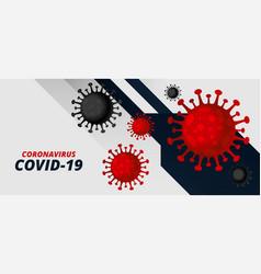 Coronavirus covid-19 pandemic outbreak virus vector