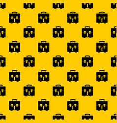 Diplomat bag pattern vector