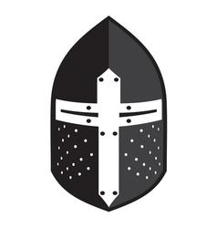 Antiques Roman helmet2 vector image vector image
