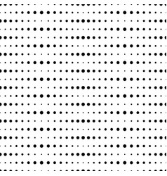 Big and small dots horizontal vector