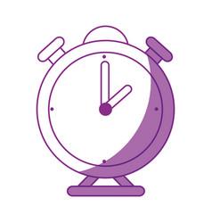 Clock bells alarm vector