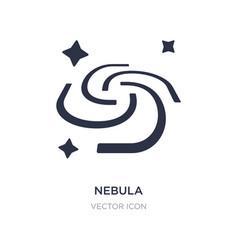 Nebula icon on white background simple element vector