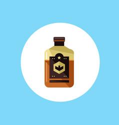 whiskey bottle icon sign symbol vector image