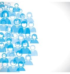businessmen background vector image vector image
