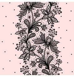Vertical seamless pattern vector image