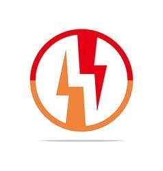 Logo Electricity Power Icon Design Symbol Abstract vector image vector image