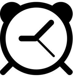 Mobile smart phone alarm icon vector