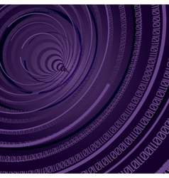 Abstract Technology Theme Binary Circle Background vector