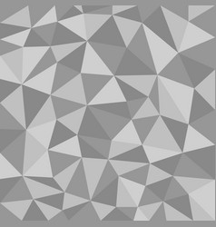 black and white polygonal texture vector image