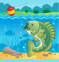 Freshwater fish theme image 4 vector