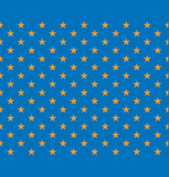 golden star on a blue background - element for vector image