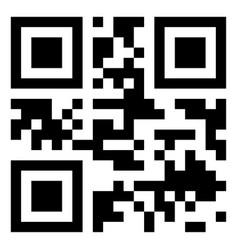 Modern qr code vector