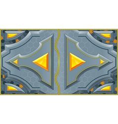 sliding doors vector image