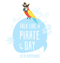 Talk like a pirate vector