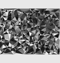 tessellating random triangles pattern background vector image