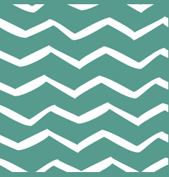 white zigzag seamless pattern trendy geometric vector image