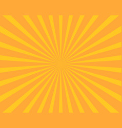 yellow sun burst background abstract and vector image