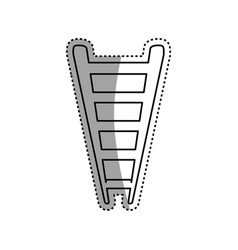 ladder or staircase symbol vector image