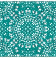 White water drops on turquoise background vector image vector image