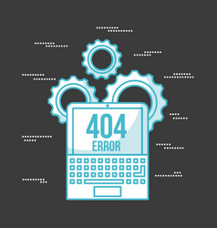 404 error background vector