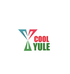 Cool company brand letter y icon vector