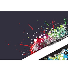 Grunge stylish banners vector image
