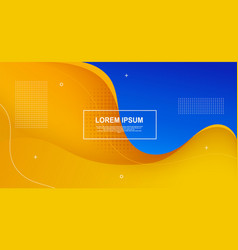 liquid colored shapes abstract futuristic minimal vector image
