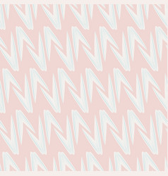 Pointy wings geometrical seamless pattern vector