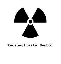 radioactivity symbol icon vector image