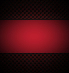 red grill texture background vector image