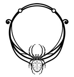 Spider frame vector