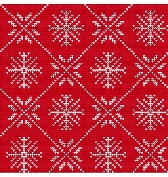 Ugly sweater Background vector image