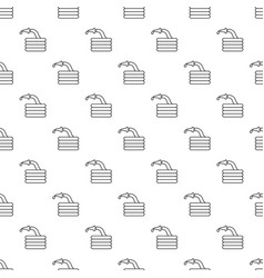 water hose pattern seamless vector image