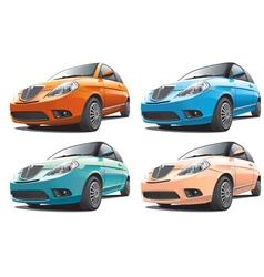 small modern car No1 vector image vector image