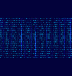 abstract technology binary code backgrounddigital vector image