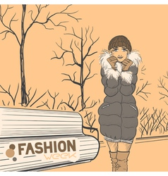 Fashion style02 vector
