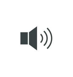 Loudspeaker icon simple vector