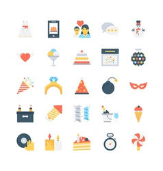 Party and Celebration Icons 5 vector