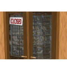 Shop closed vector